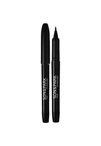 SON&PARK black SON&PARK True Black Eye Pen Liner SO466BE15DRWMY_1