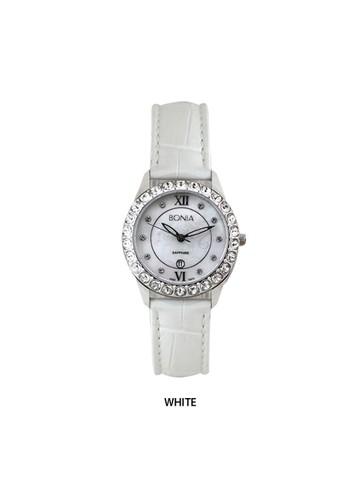 Bonia white Bonia - B10011-2359S - Jam Tangan Wanita - White 38A7DAC8E910CCGS_1