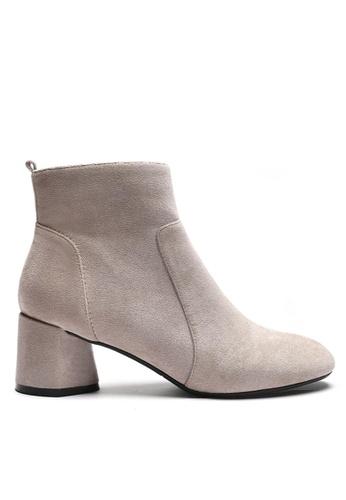 Twenty Eight Shoes Synthetic Suede Ankle Boots 1910-1 9E9F4SHC78C55DGS_1