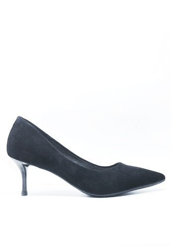 Twenty Eight Shoes black 6.5CM Pointy Pumps 208-1 AA56CSH5C7400BGS_1