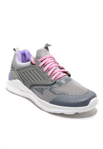 World Balance grey Fair Ground Young Kid's Shoes D1B77KSAF61B58GS_1
