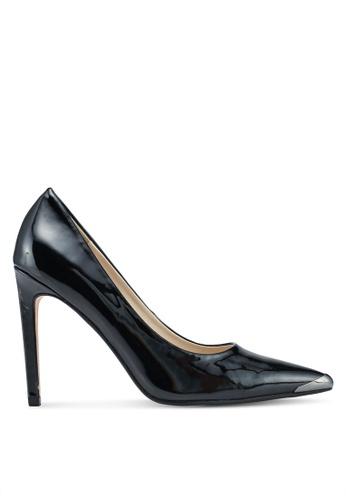 ZALORA black Front Tip Detail High Heels 14C5ESHFF69C80GS_1