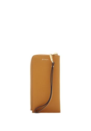 BONIA brown Choccy Bikki Wristlet Wallet 3D6D3AC12AC23FGS_1