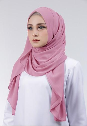 Cantik Kerudung pink Adela Instant 78007AAD5C73CFGS_1