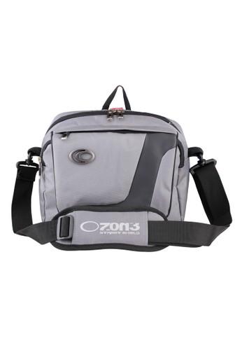 Ozone grey Ozone Netbook/ Ipad Shoulder Bag 746 Nylon + Raincover - ABU OZ386AC0U5MCID_1