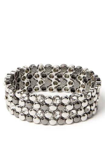 MARKS & SPENCER black Mini Stretch Bracelet D3999AC2575593GS_1