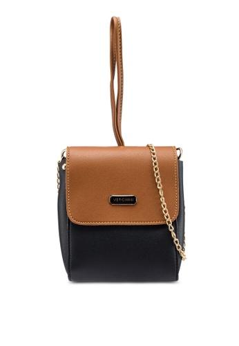 Verchini black Fusion Coloured Sling Bag FB297AC1258721GS_1