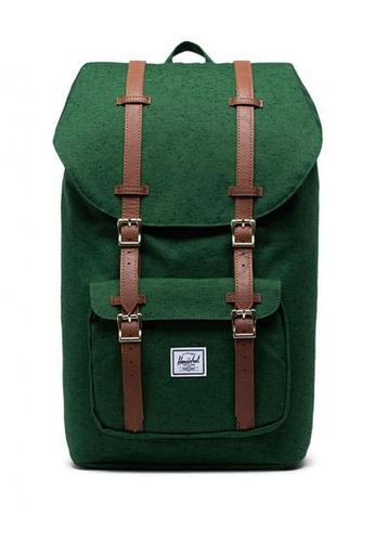 Herschel green Little America Backpack 87AE6ACA701CA7GS_1