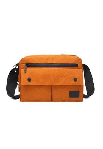 The Dude orange Skyline Messenger TH373AC62KGJHK_1