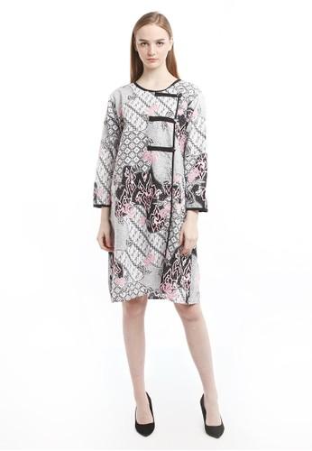 Batik Jagad Tresno pink Dineshcara Tunik Batik Wanita 363AEAA4DE9913GS_1