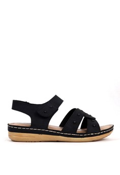 BETTINA black Bettina Sandals Bernice - Black B7FE8SH019D376GS_1