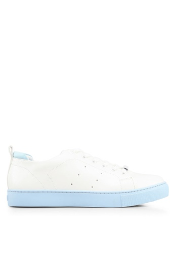 ALDO 藍色 雕紋運動鞋 DE953SHBE83CF1GS_1