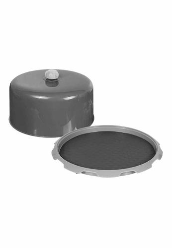 Slique grey Premium Cake Cover Baking Essentials 6E989HLF7B8AE3GS_1
