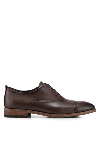 Call It Spring brown Kaaywet Derby Shoes 8C3A8SHBB231F9GS_1