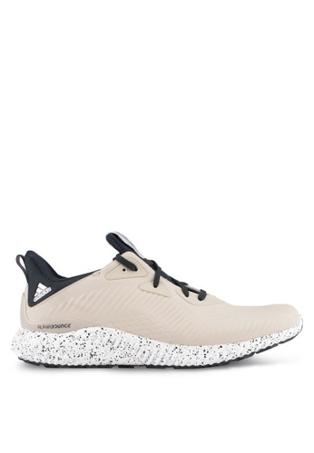 adidas multi and beige adidas alphabounce running shoes AD372SH0SRNAMY_1