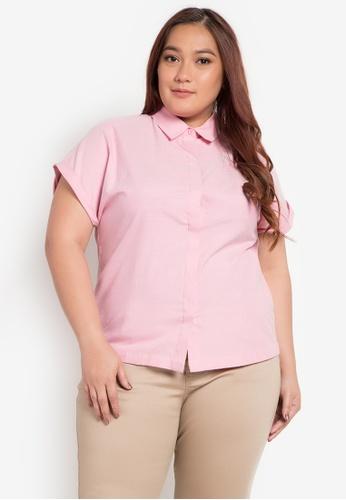 Maldita X pink Jenny Plus Size Short Sleeve Shirt MA587AA0JXZ0PH_1