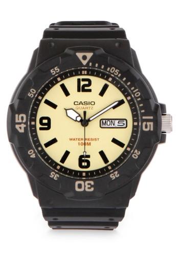 Casio brown Men Analog Watches MRW-200H-5BVDF 902C0ACE2A8B53GS_1