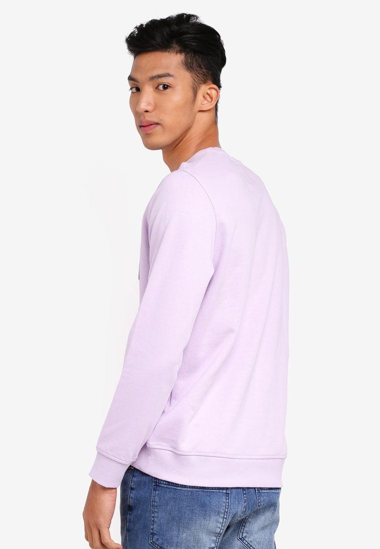 Sleeve Long Long Lavender Long Sweatshirt Sweatshirt Sleeve ESPRIT ESPRIT Lavender Sleeve qwrnFtq0