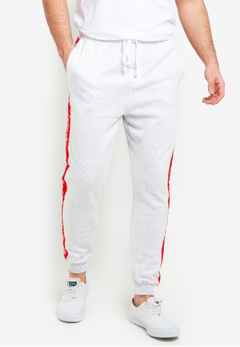 Cotton On white Trippy Slim Trackie Pants 0CB73AA680F015GS_1