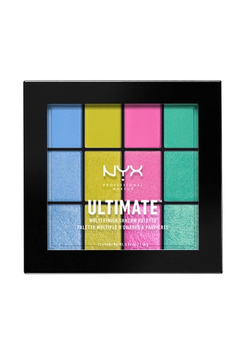 NYX Professional Makeup multi NYX Professional Makeup Ultimate Multi-Finish Shadow Palette - ELECTRIC 1EDFFBE5F771F9GS_1