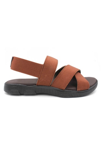 midzone brown MIDZONE Comfort Lady Sandals CCC62SH6E9D004GS_1