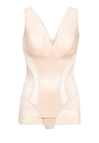 Lady Grace beige Body Suit D7825US52F05F6GS_1