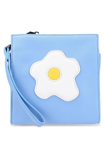 Something Borrowed blue Icon Pouch 2B528ACA022A06GS_1