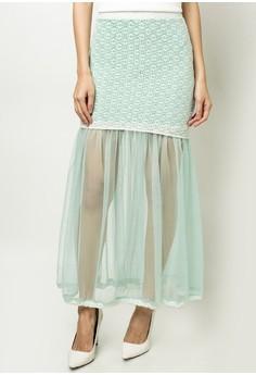 Danica Lace Maxi Skirt