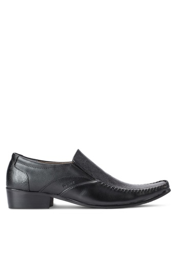 Spiffy black Business Shoes SP352SH69IOSMY_1