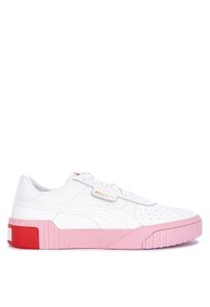 68a2c78fd66 Puma white Cali Fashion Women s Sneakers E10F2SH81523F3GS 1