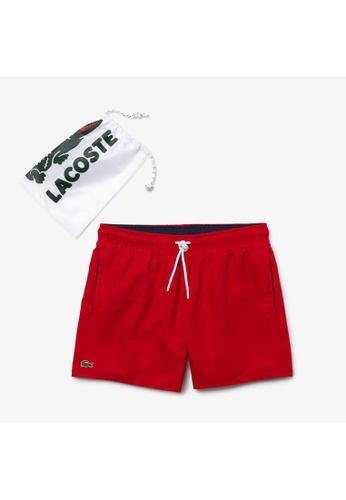Lacoste red Men's Light Quick-Dry Swim Shorts 62C64US4504151GS_1