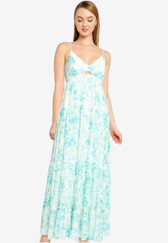 Forever New green Nina Tiered Maxi Dress B59F6AA0258116GS_1