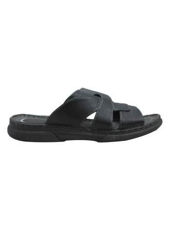 midzone black Classic Sandals MI949SH49KJMMY_1