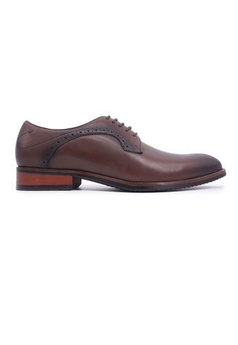 Rad Russel brown Rad Russel Lace-up Derby - Brown 74A3ASH48D6430GS_1