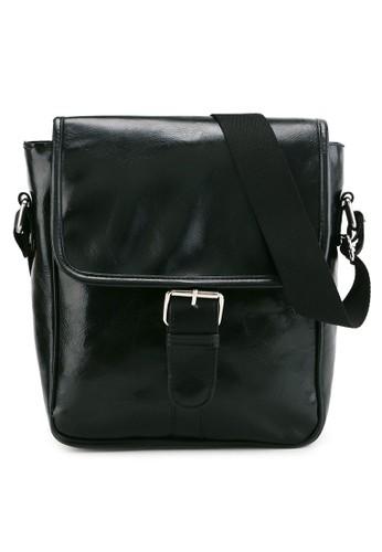 Mathew J black El Matador Sling Bag Bl 84E32ACE58822BGS_1