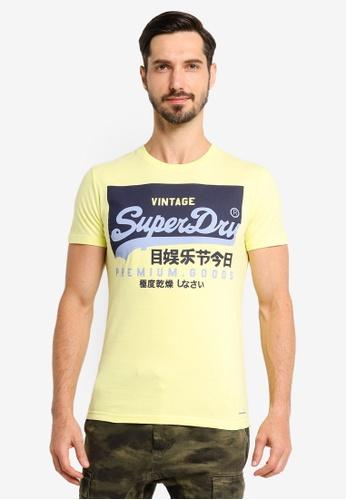 Superdry yellow Vl O Tee BC3D9AAF76D0B8GS_1