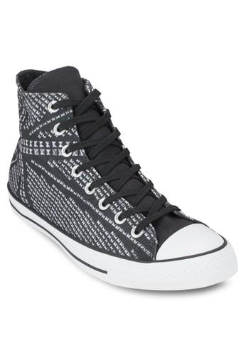 Chuck Taylor All Star 印花鉚釘高筒布鞋, 鞋,esprit 價位 鞋
