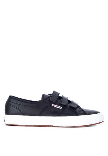 Superga black 2750-Efgl3Strapu Sneakers 282A9SHC0BC9DFGS_1