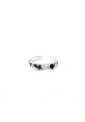A-Excellence silver Premium S925 Sliver Geometric Ring 15E95AC7430845GS_1