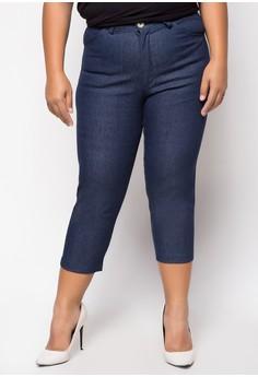 Plus Size Mikka Capri Pants