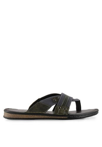 MARC & STUART Shoes green and grey Hk-Lj-4 MA456SH53STUID_1