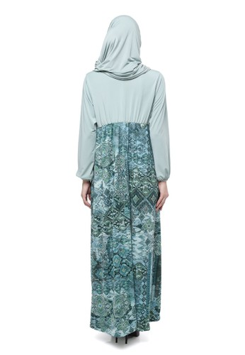 Le Najwa green Maureen Batik Heritage LE371AA0U8G5ID 1 3ed150bb54