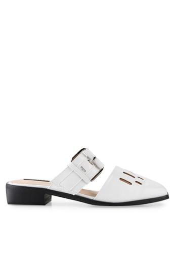 Mandy's white Mandy's Shopper White Sandals MA947SH54CSBID_1
