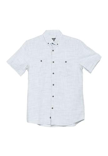 LC Waikiki green Regular Fit Short Sleeve Oxford Shirt 6D52CAAD8A0210GS_1