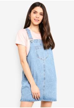 9a1be741fb903 Factorie blue Classic Denim Overall Dress 7B773AA4579327GS 1