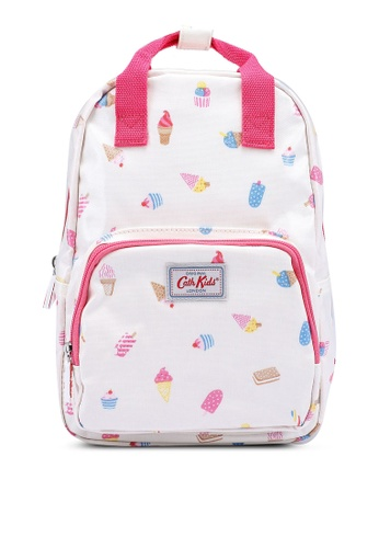Cath Kidston white Ice Creams Kids Medium Backpack 87587KC7AFDC60GS_1