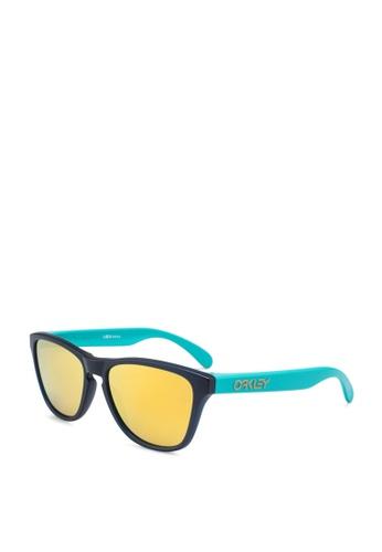 Oakley 多色 反光太陽眼鏡 FCF98GLFDE00C2GS_1