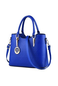 New Korean Classy Leather Handbag with Shoulder Strap