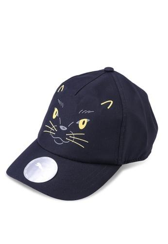 Puma black Animal Kids' Baseball Cap 45BA8KCE6BC680GS_1