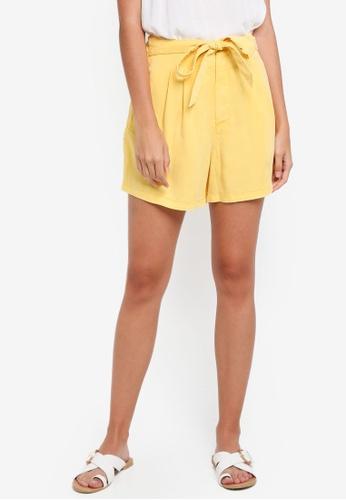 Vero Moda gold Mia Loose Shorts F0449AA2BF8D8EGS_1